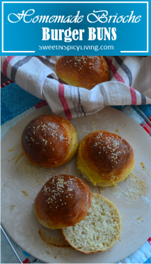 Homemade Brioche Burger Buns 2