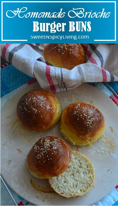Homemade Brioche Burger Buns 2