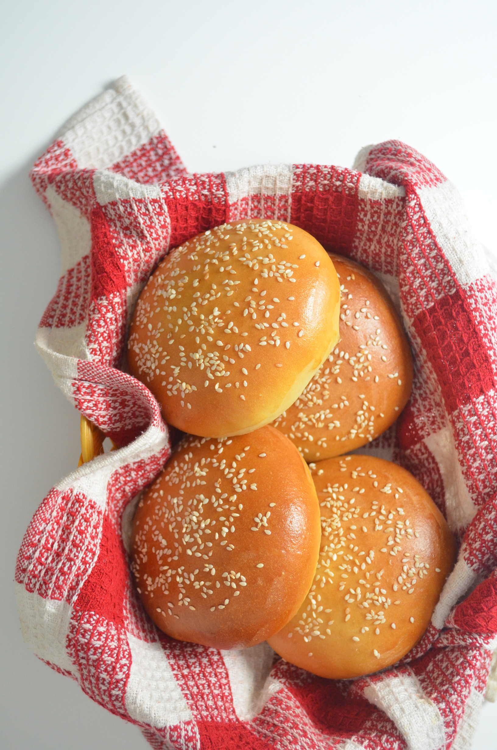 Homemade Hamburger Buns