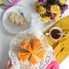 Mango Coconut Cake wit CoconutFrosting