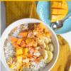 Mango Coconut Oatmeal