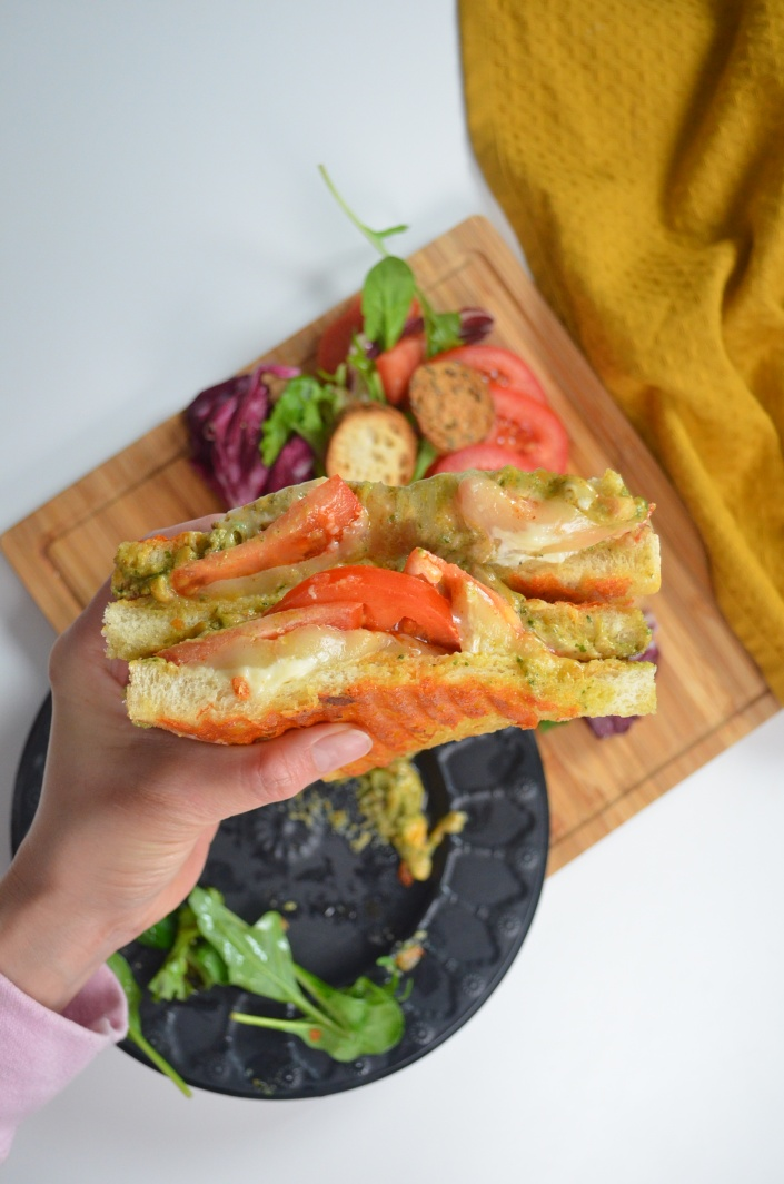 Margheritta Pesto Grilled Cheese