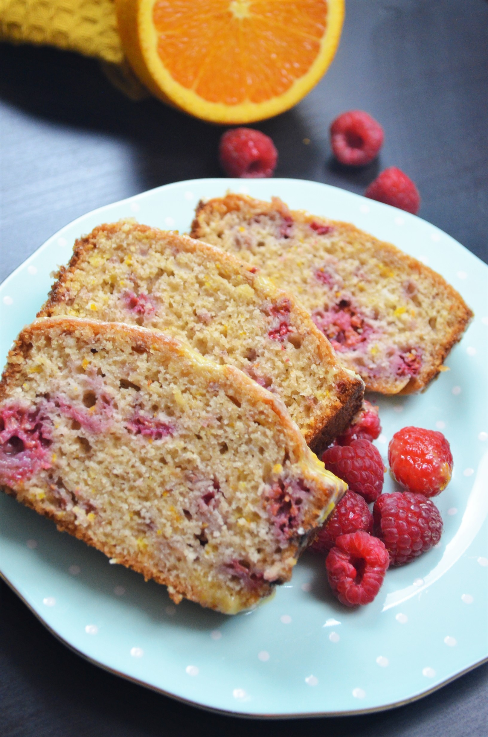 Orange and Raspberry Loaf Bread