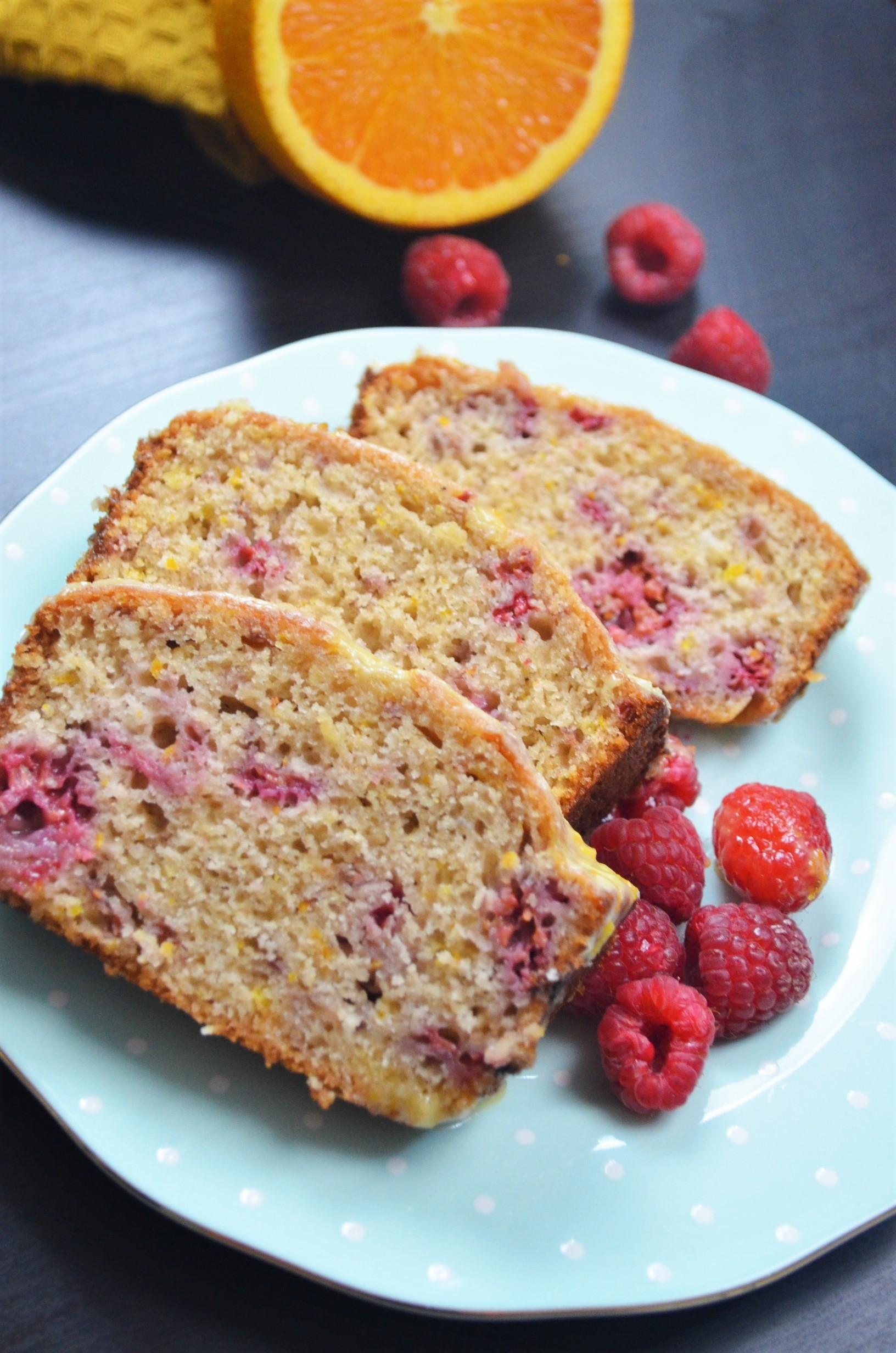 Orange and Raspberry Loaf Bread