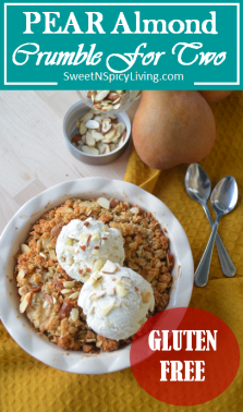 Pear Almond Crumble 3