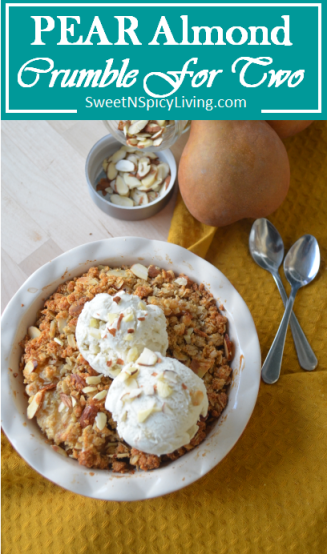 Pear Almond Crumble 4