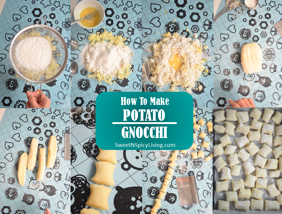 Potato Gnocchi Collage 3