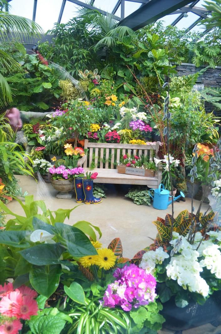 Show Green House at Butchart Garden