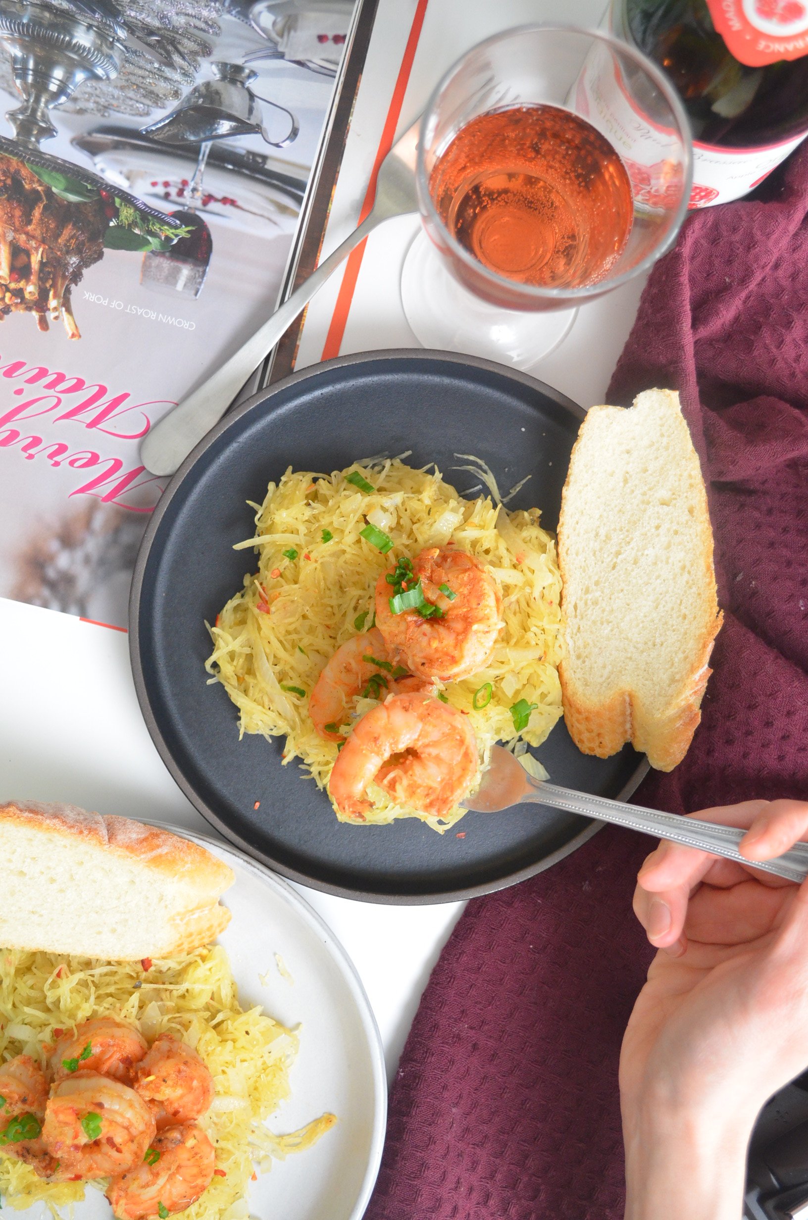 Shrimp Scampi SweetNSpicyLiving