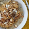 Single Serving Pear Almond CrumbleOatmeal