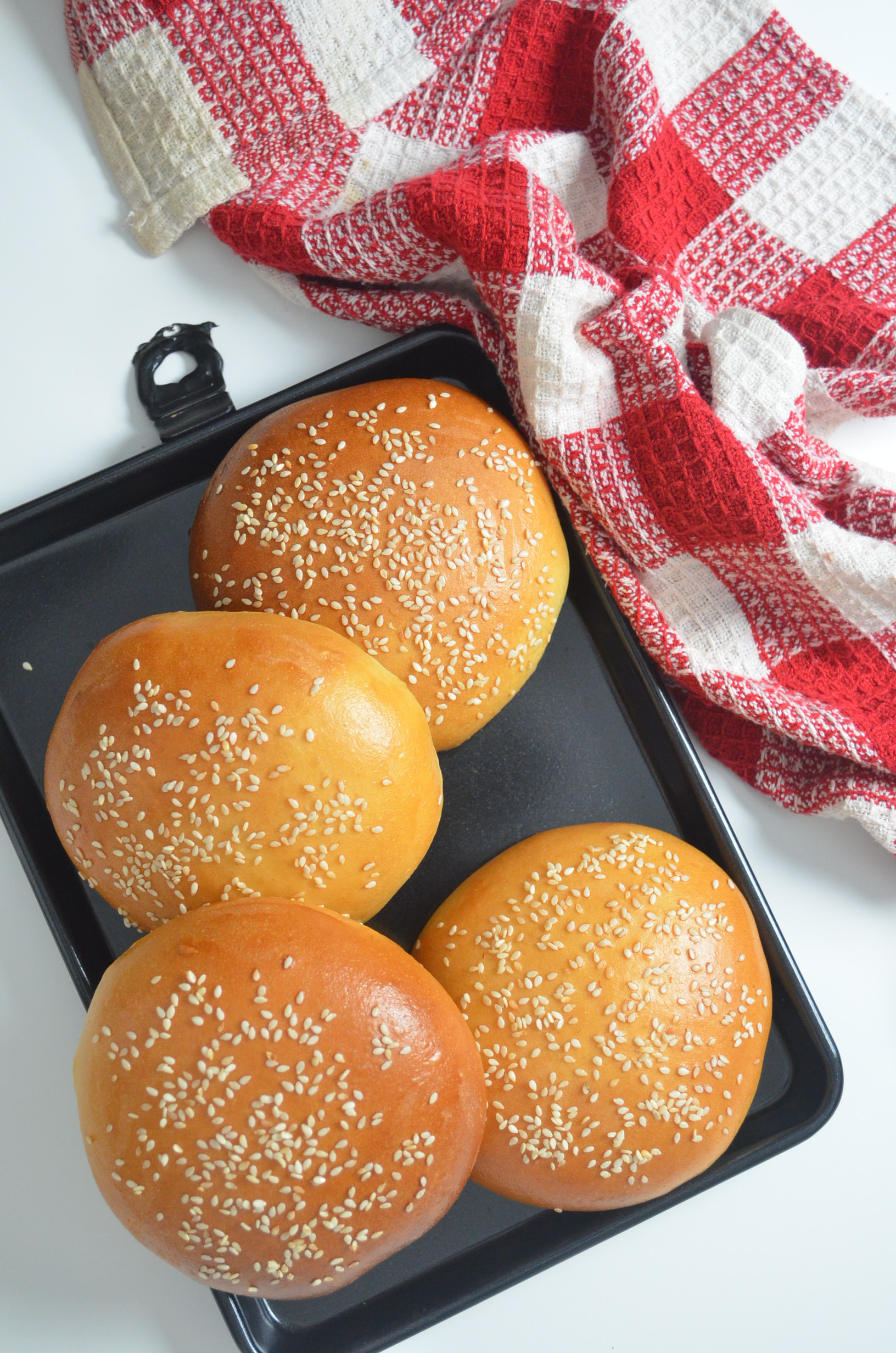 Small Batch Hamburger Buns