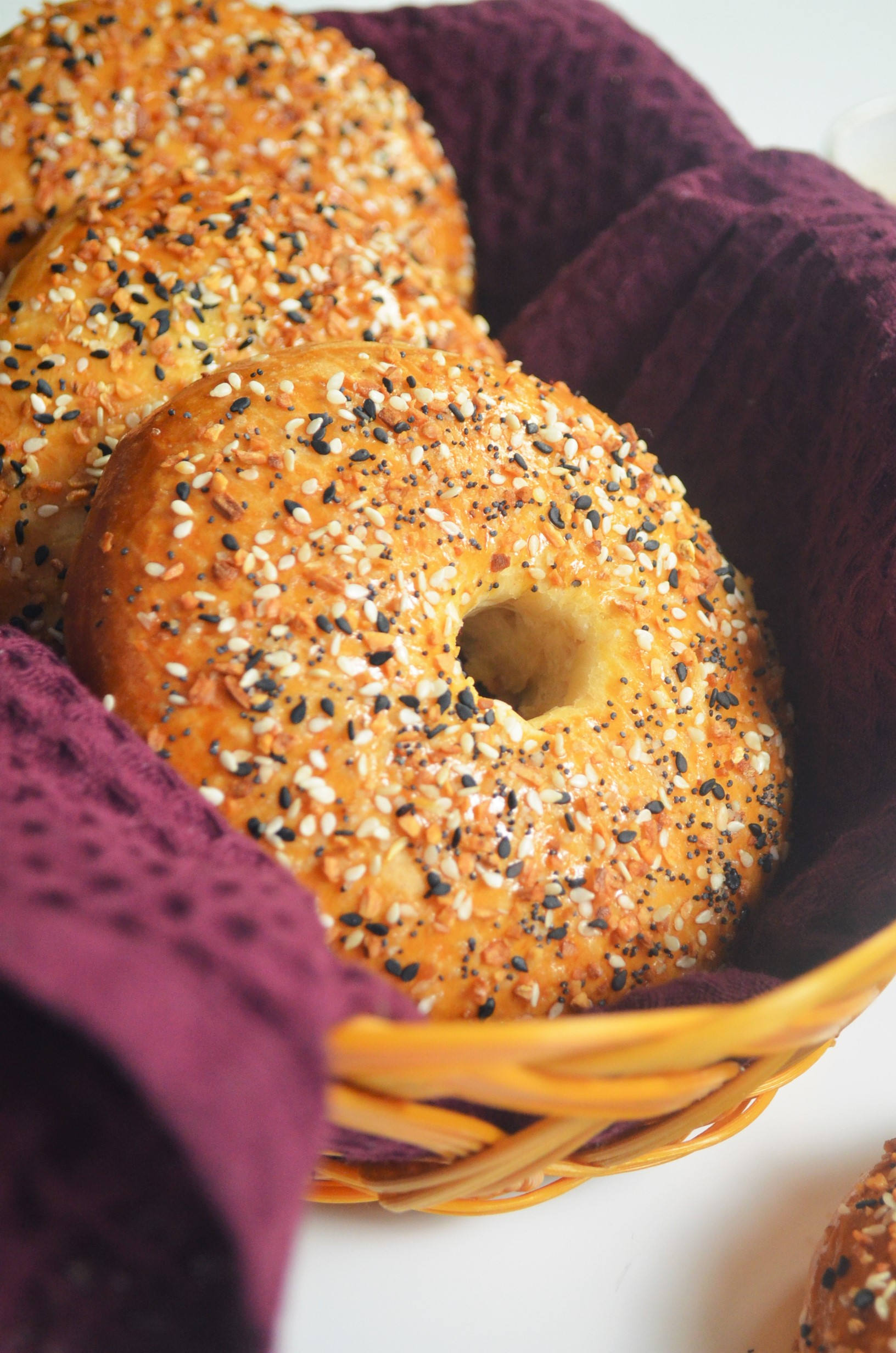 Small Batch Homemade Everything Bagel Bread