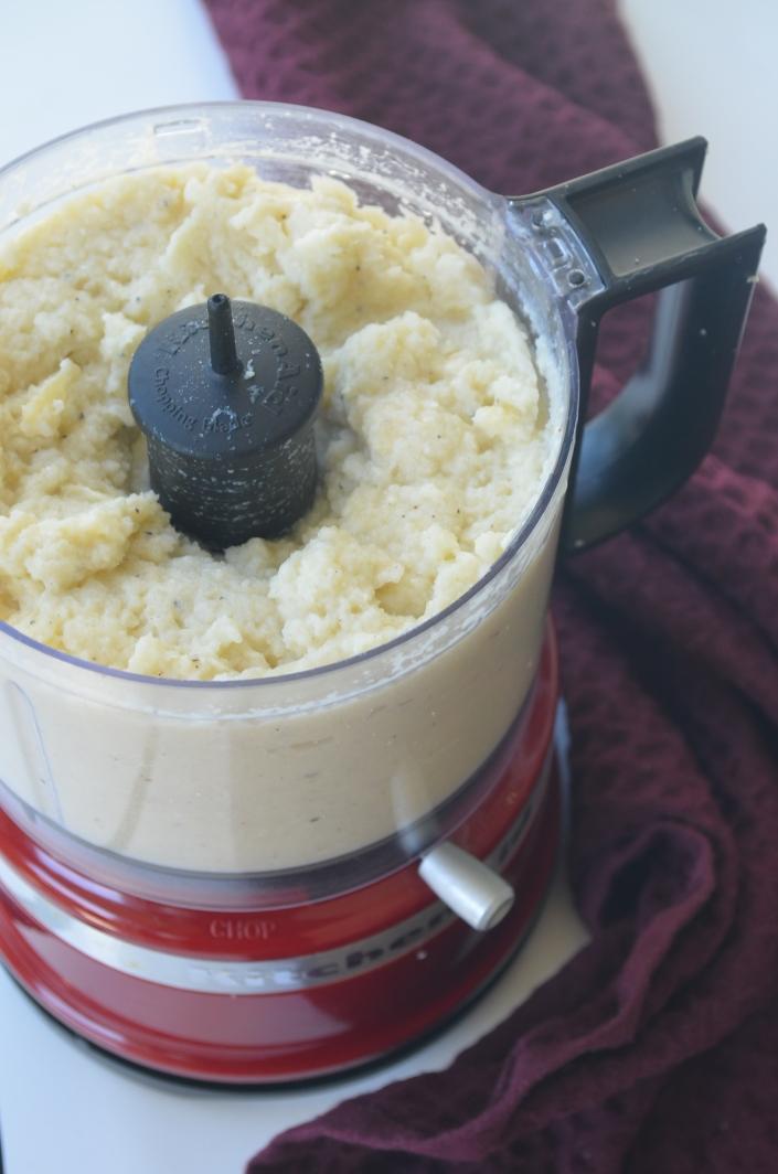 Small Batch Mashed Cauliflower