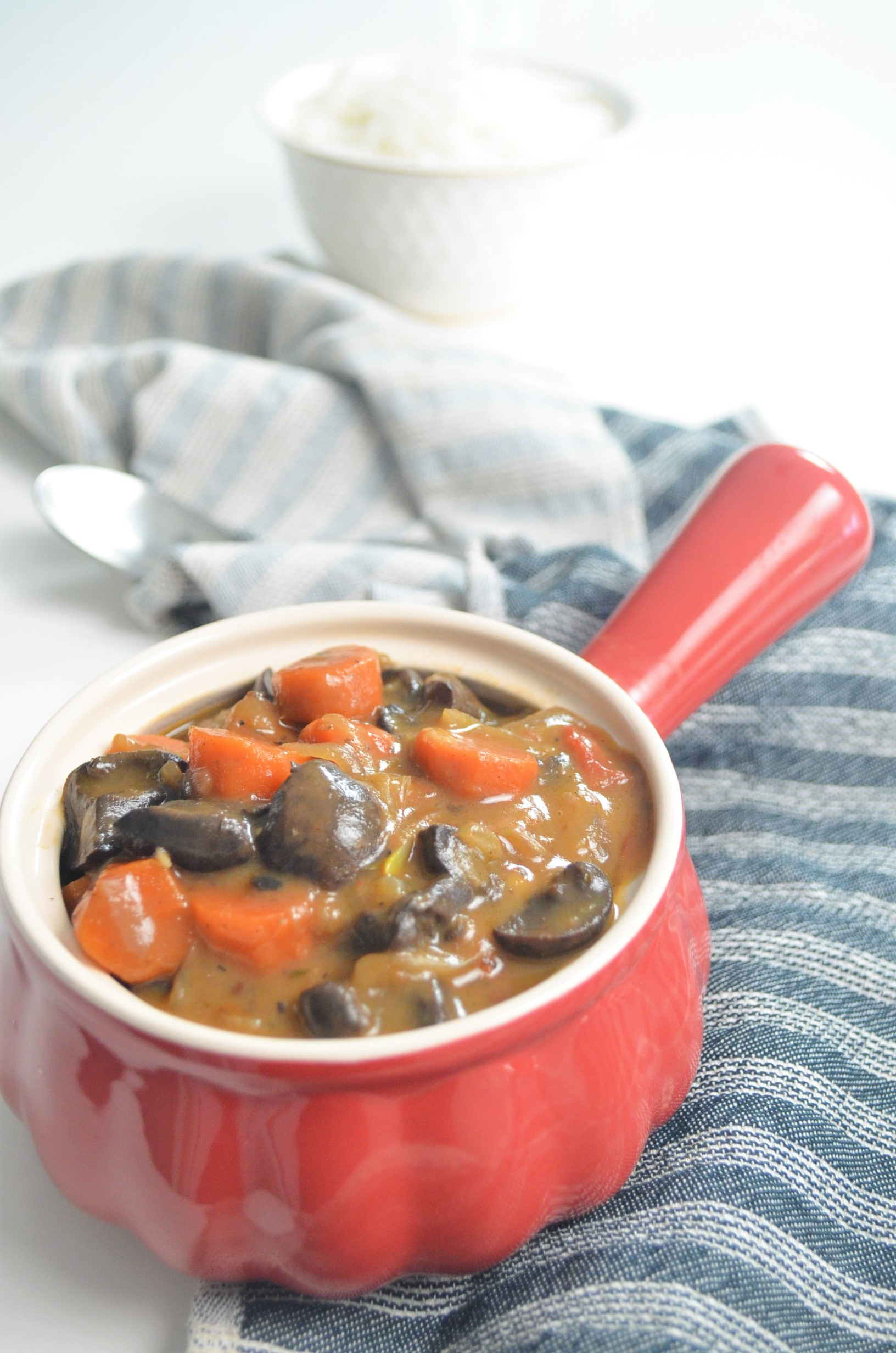 Small Batch Mushroom Bourguignon For Two By SweetnSpicyLiving