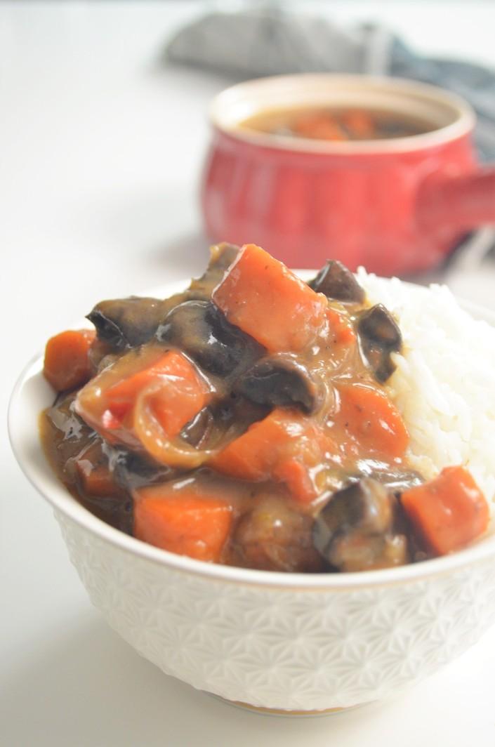 Small Batch Mushroom Bourguignon For Two