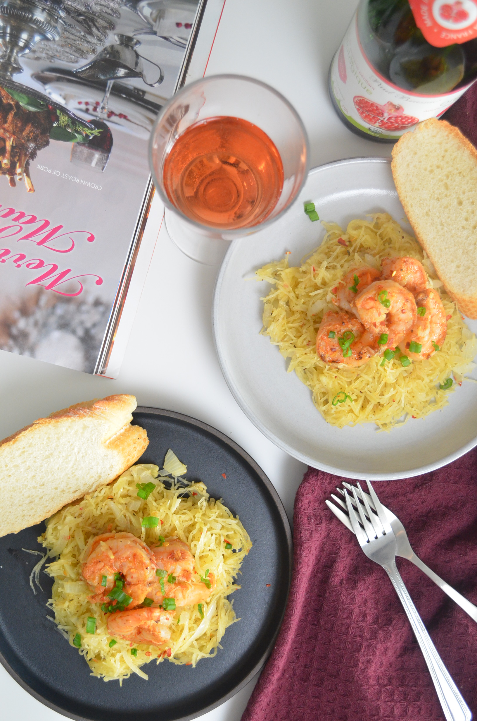 Small Batch Shrimp Scampi