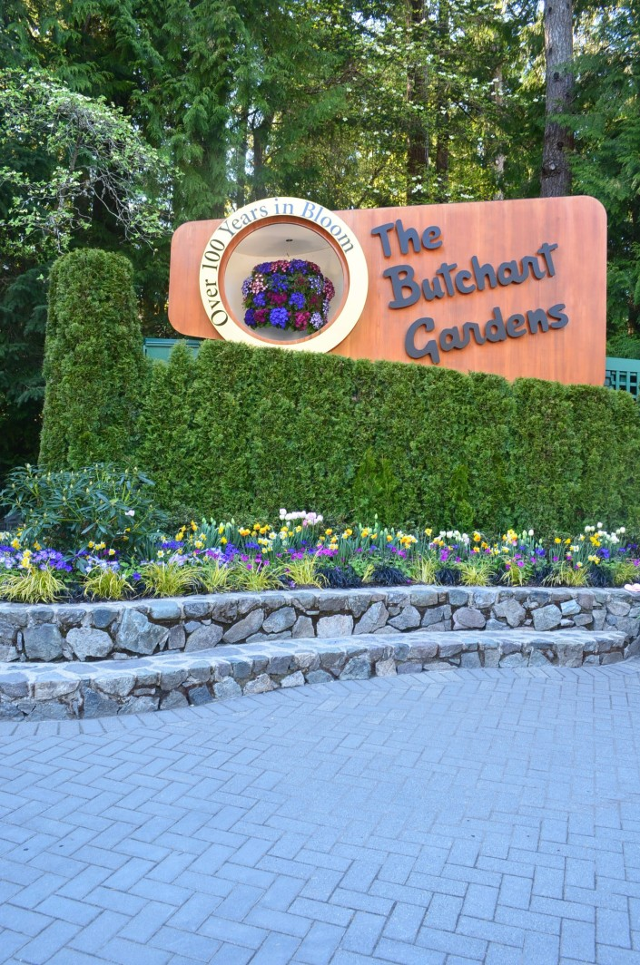 The Butchart Gardens April 2019