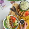 Tofu and Cilantro RiceBowl