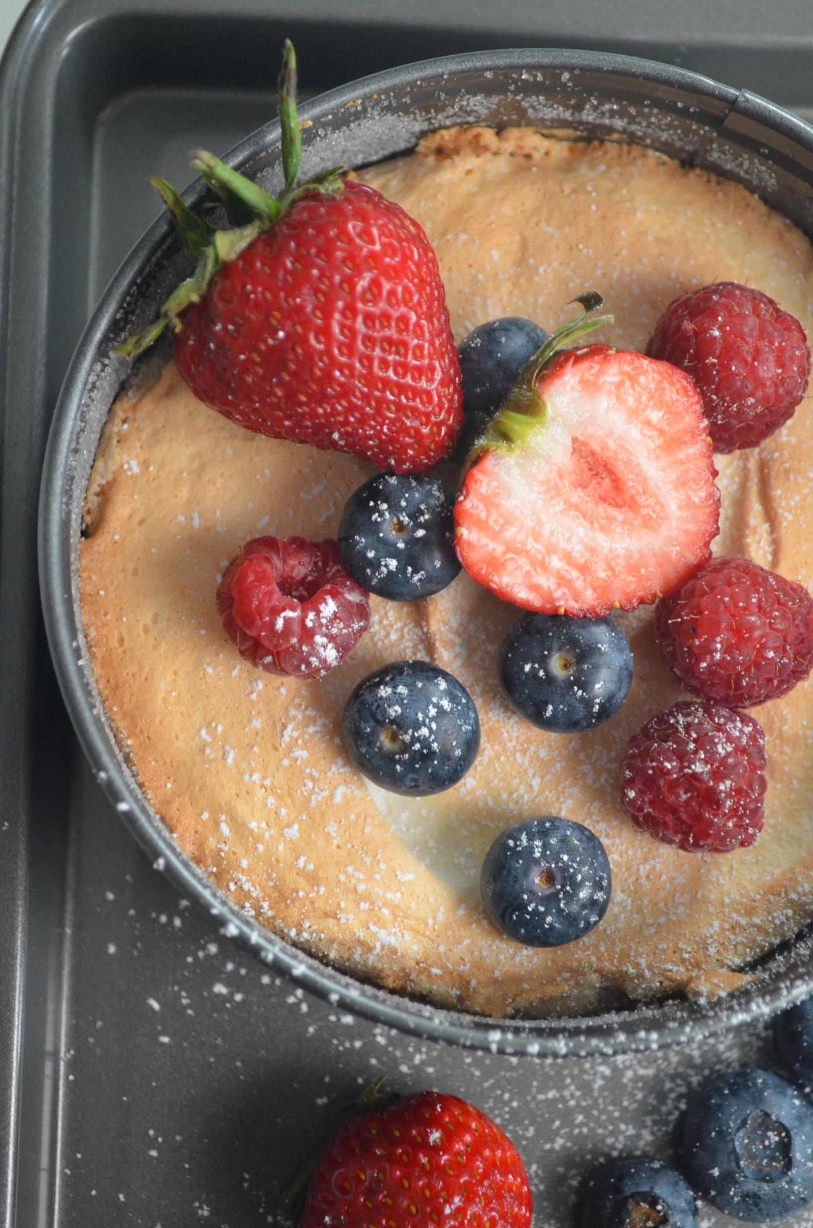 Angel Food Cake By SweetNSpicyLiving