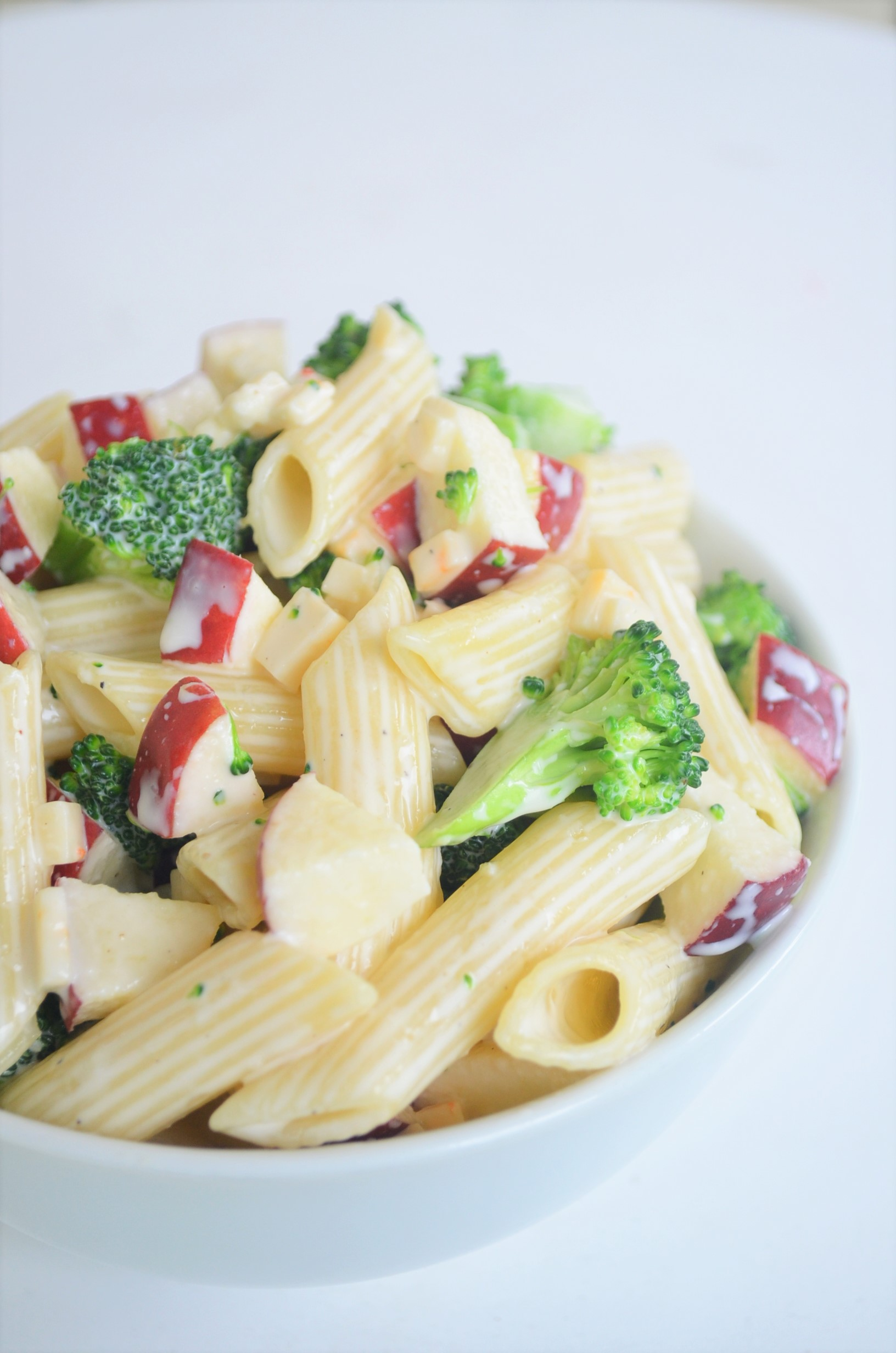 Apple and Broccoli Pasta Salad