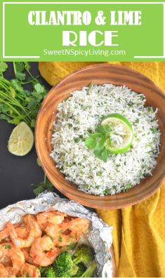 Cilantro and Lime Rice 1