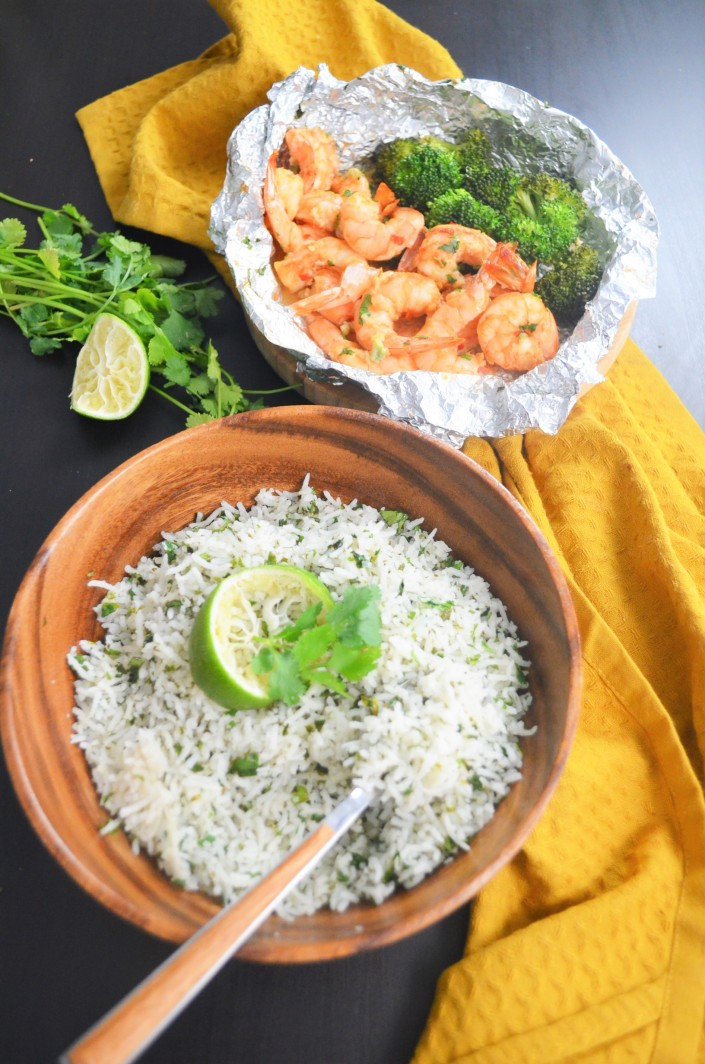 Cilantro Lime Rice Bowl