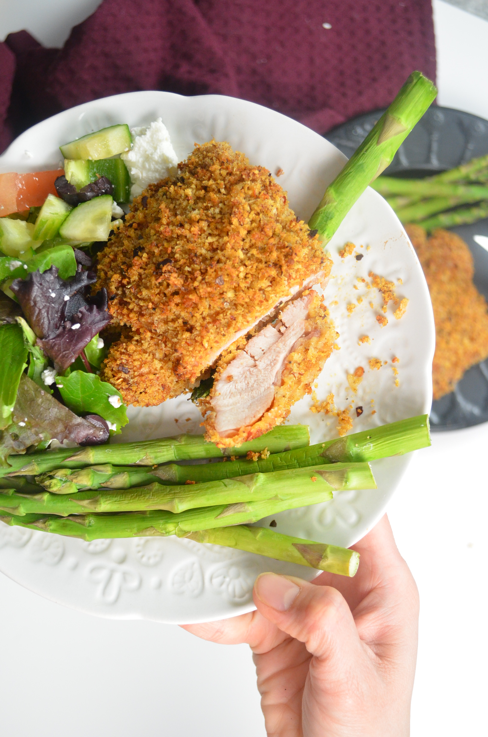 Crispy Baked Panko Crusted Chicken