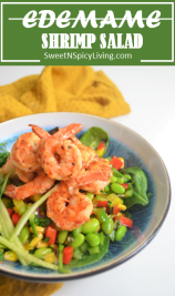 Edemame Shrimp Salad