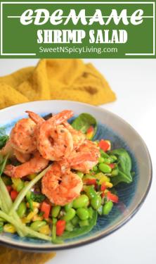 Edemame Shrimp Salad