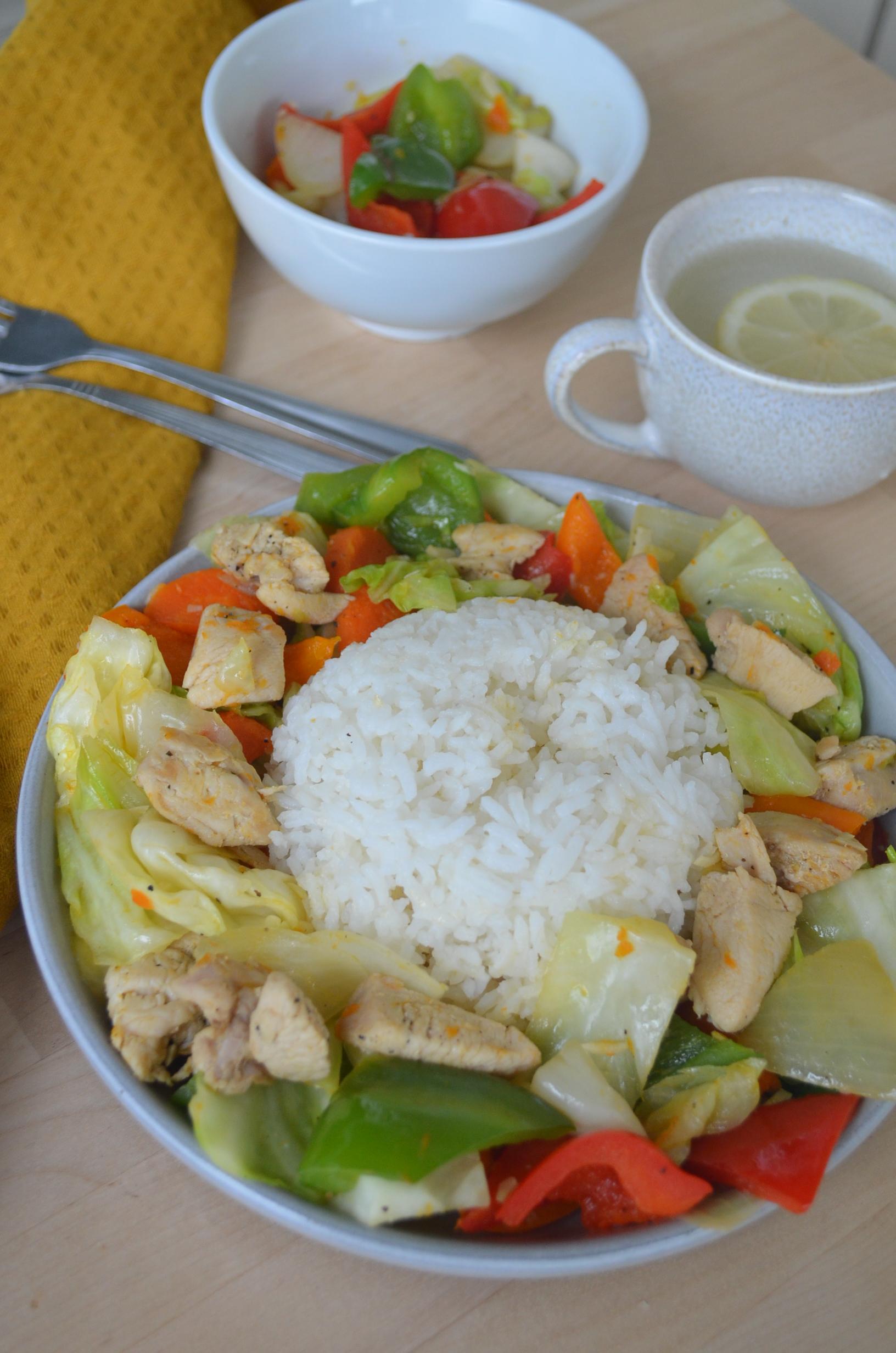 Filipino Chicken Chopsuey