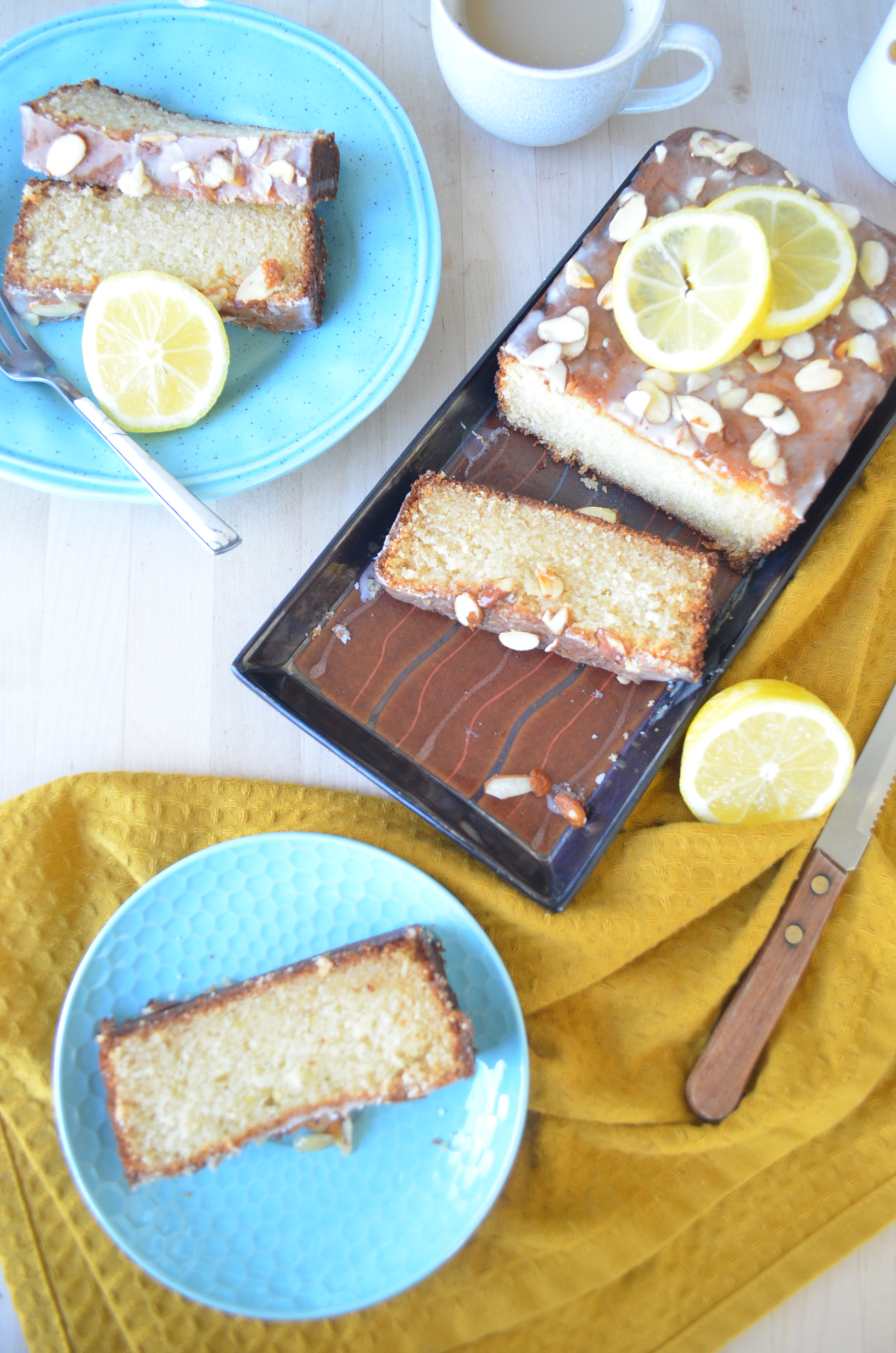 Lemon Ricotta Cheese Loaf