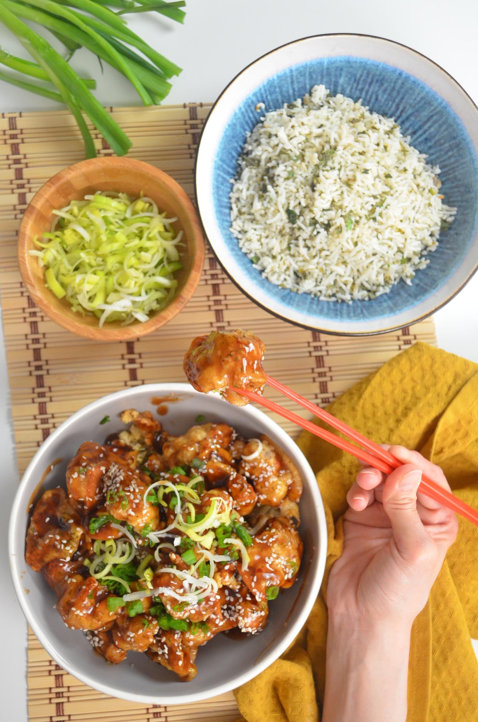 Meat Free Monday Cauliflower Teriyaki Sesame