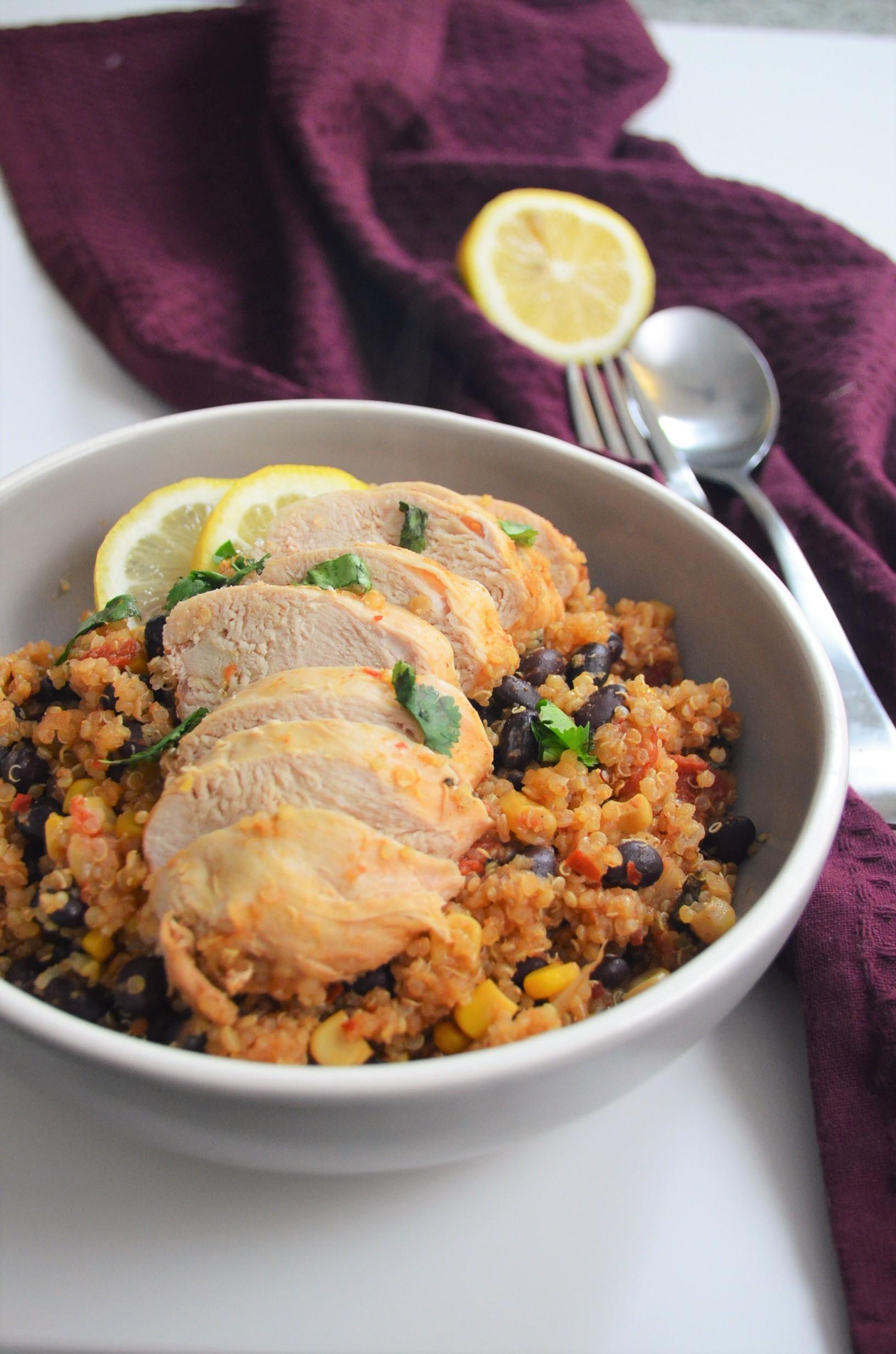 Mexican Quinoa Chicken Salad