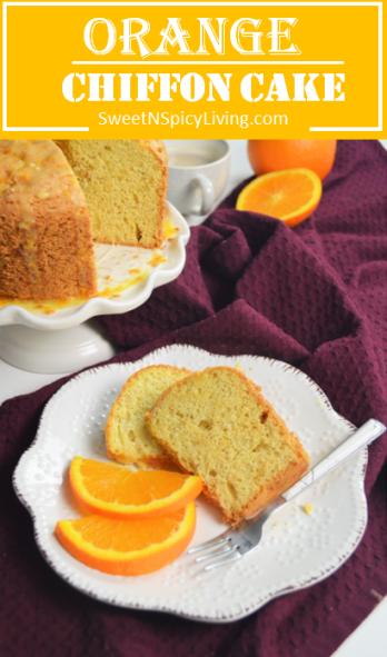 Orange Chiffon Cake 2