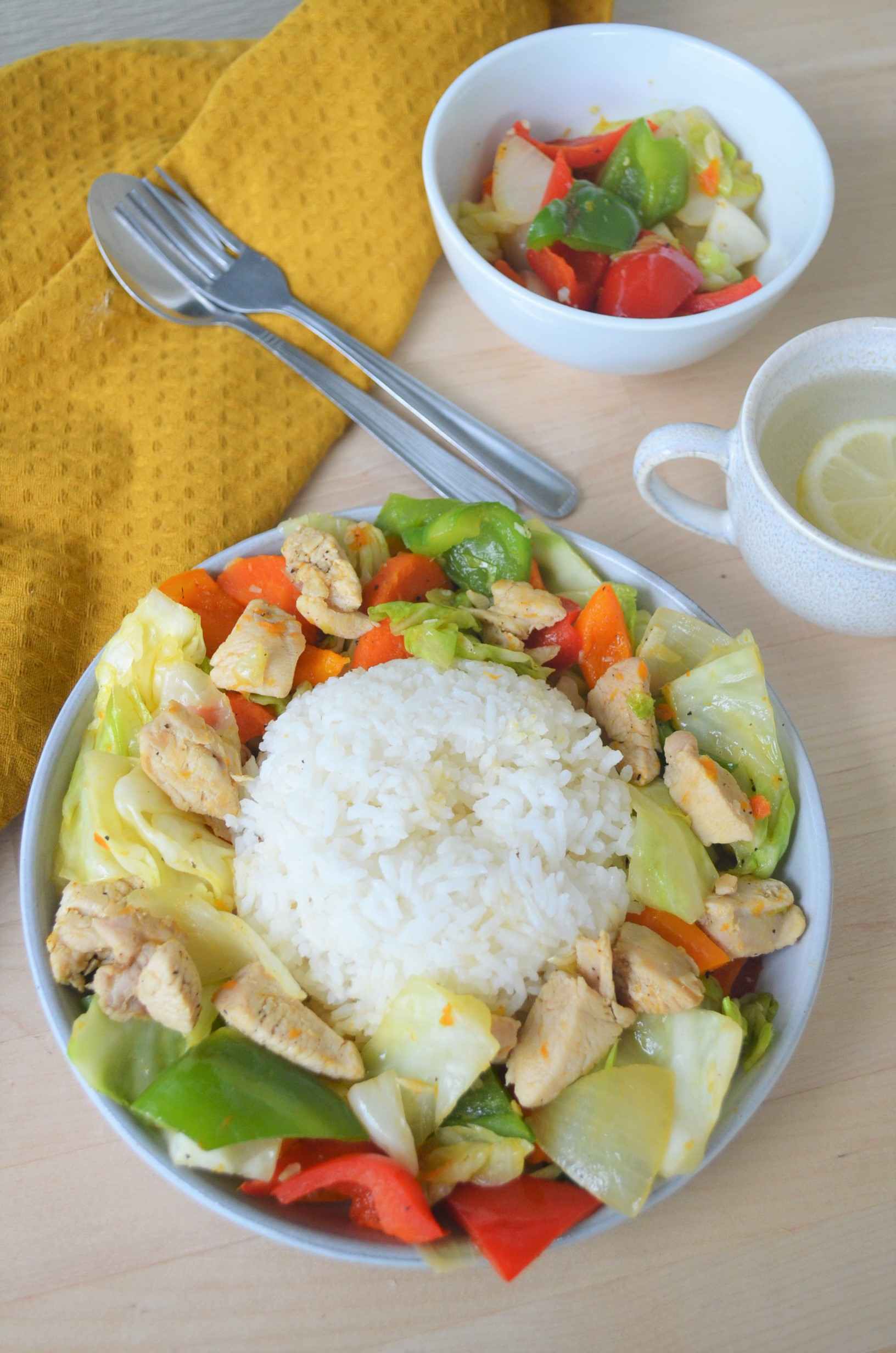 Simple Filipino Chicken Chopsuey