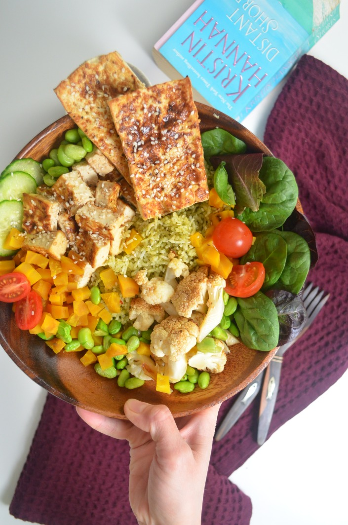 Simple Tofu Buddha Bowl