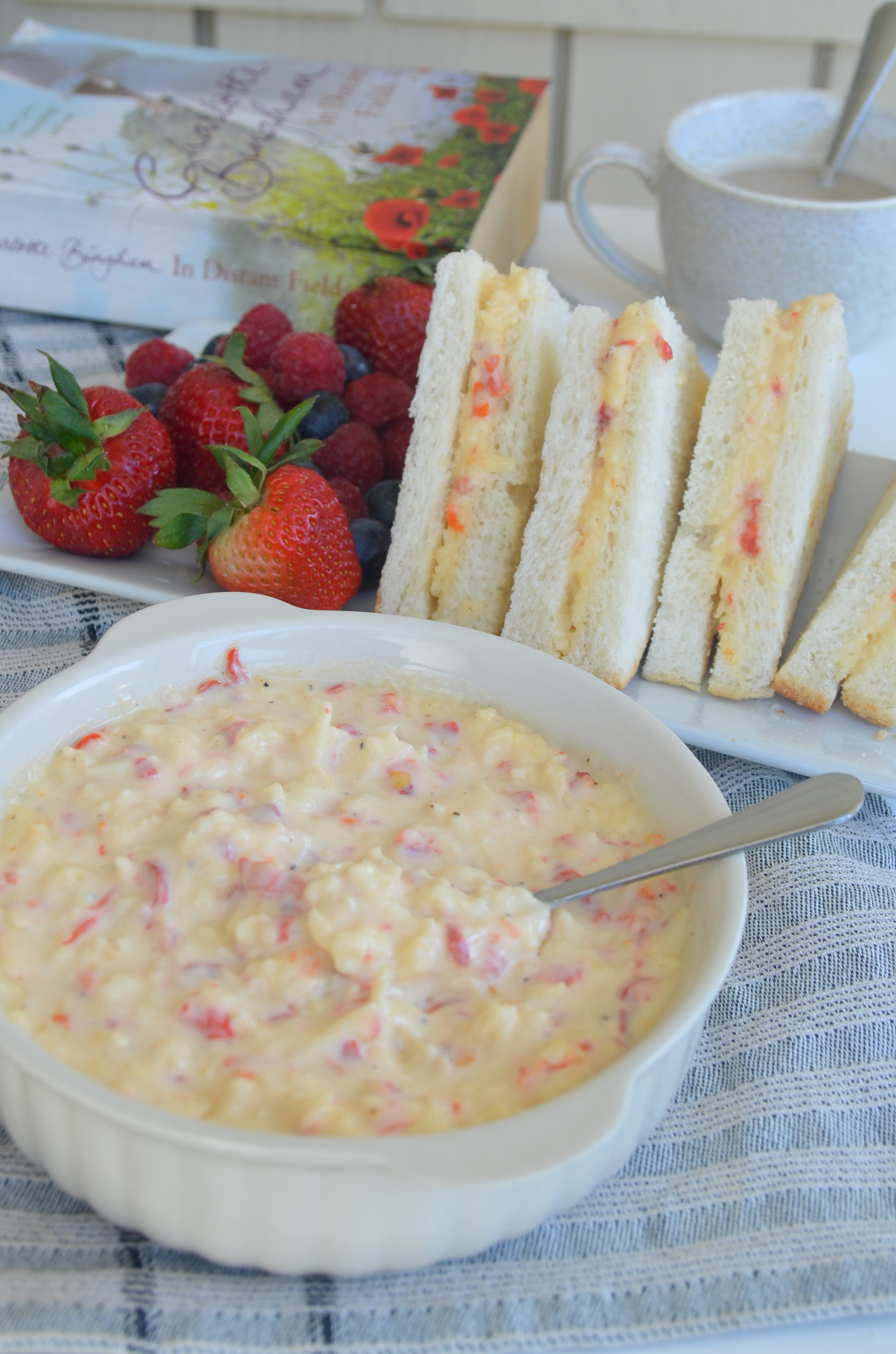 Small Batch Cheese Pimiento Dip