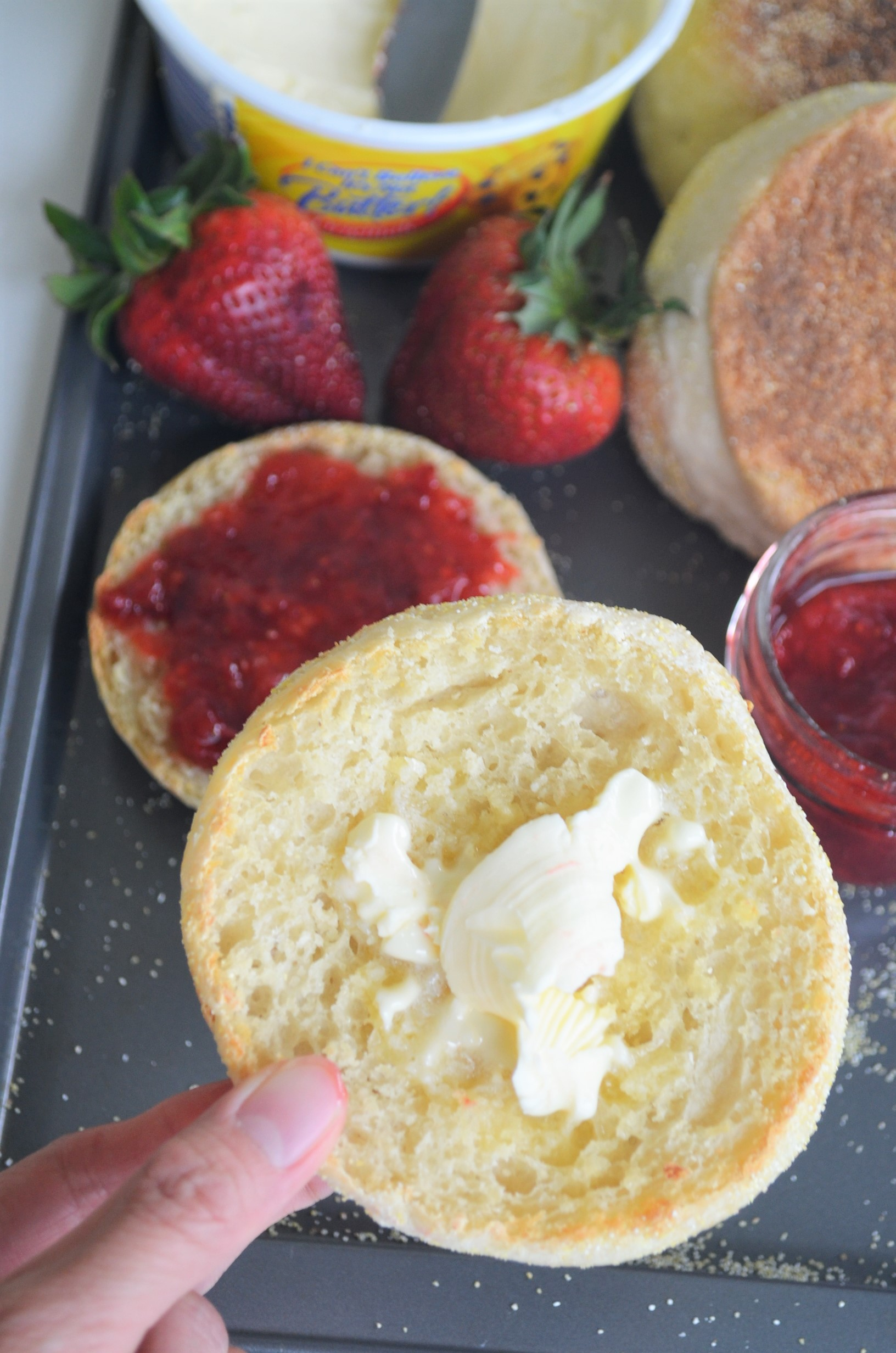 Small Batch English Muffins By SweetNSpicyLiving 2