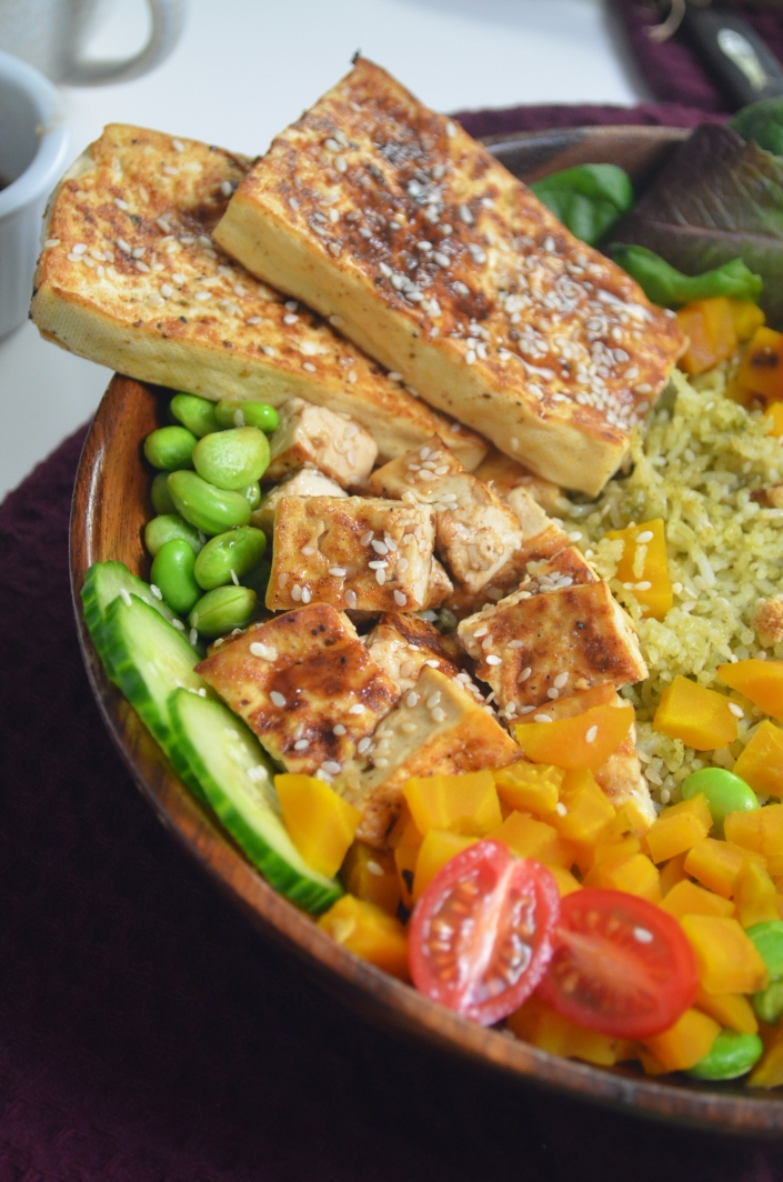 Spicy Tofu Buddha Bowl