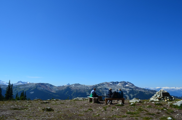 Alpine Hike Blackcomb Whistler