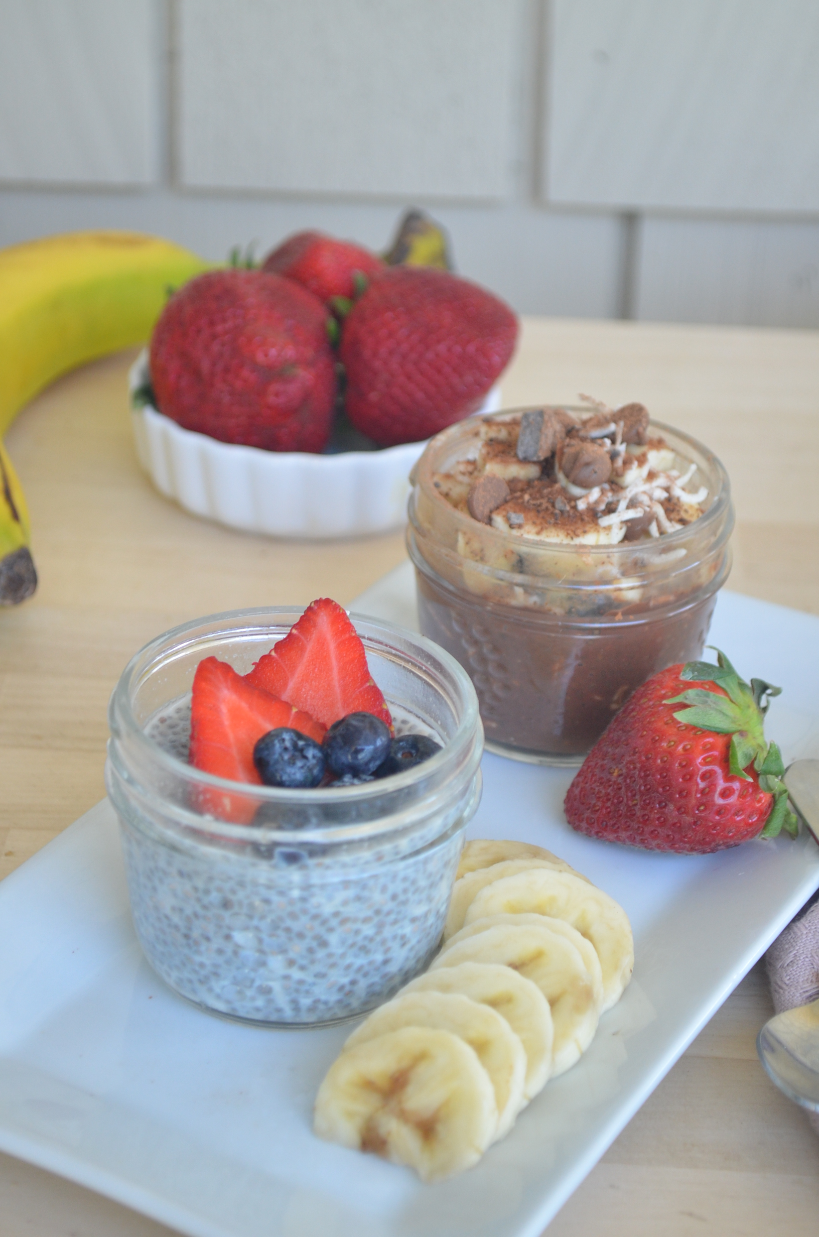 Chocolate Chia Seed Pudding for Two