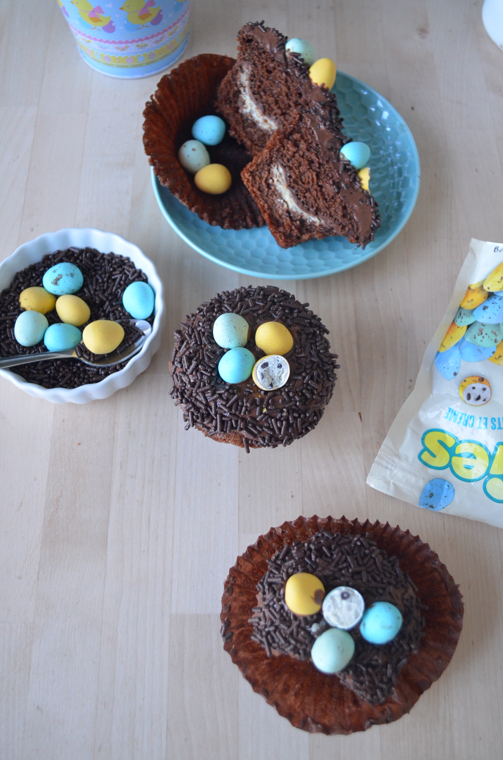 Easter Chocolate Cupcake By SweetNSpicyLiving