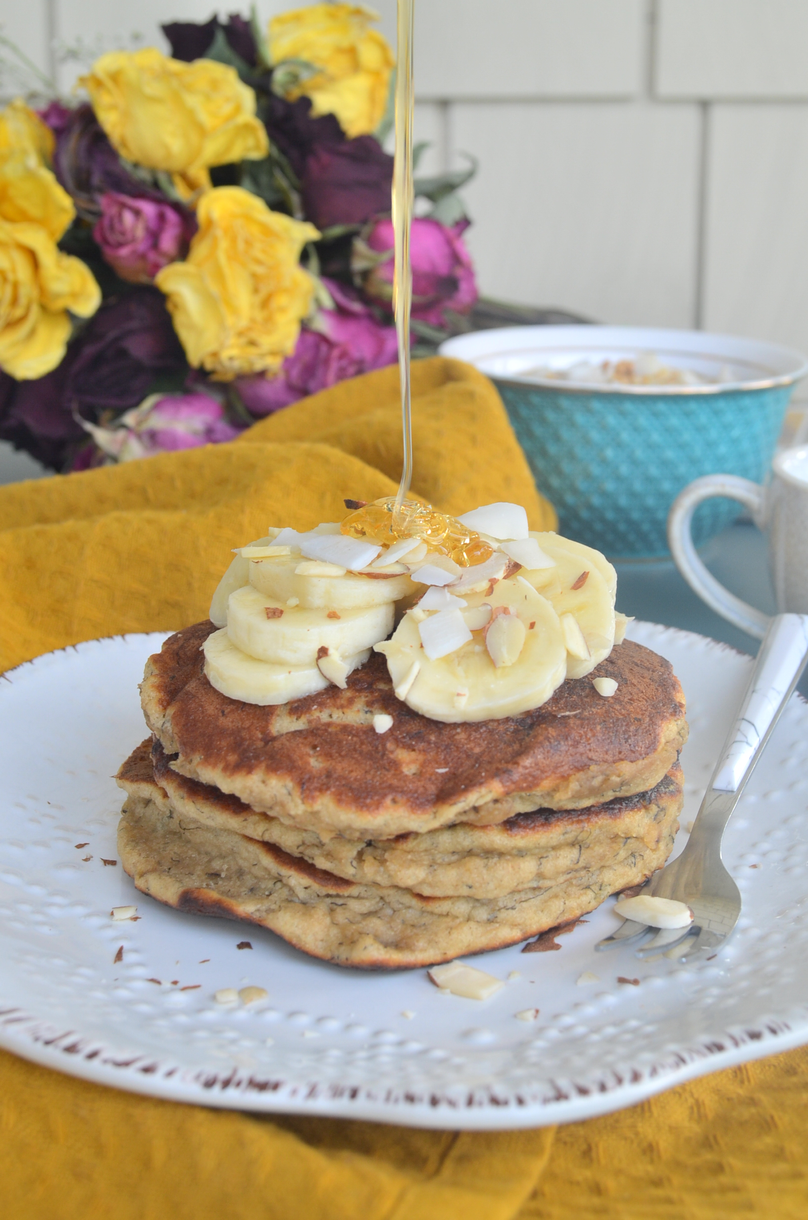 Fluffy Small Batch Banana Pancake