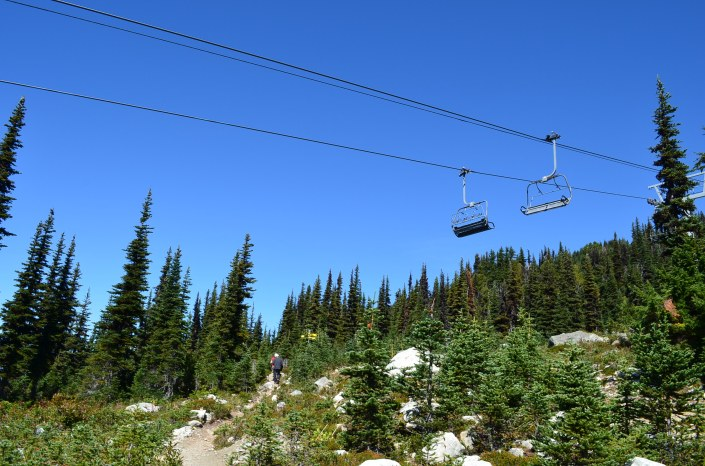 Hiking in Whistler Canada
