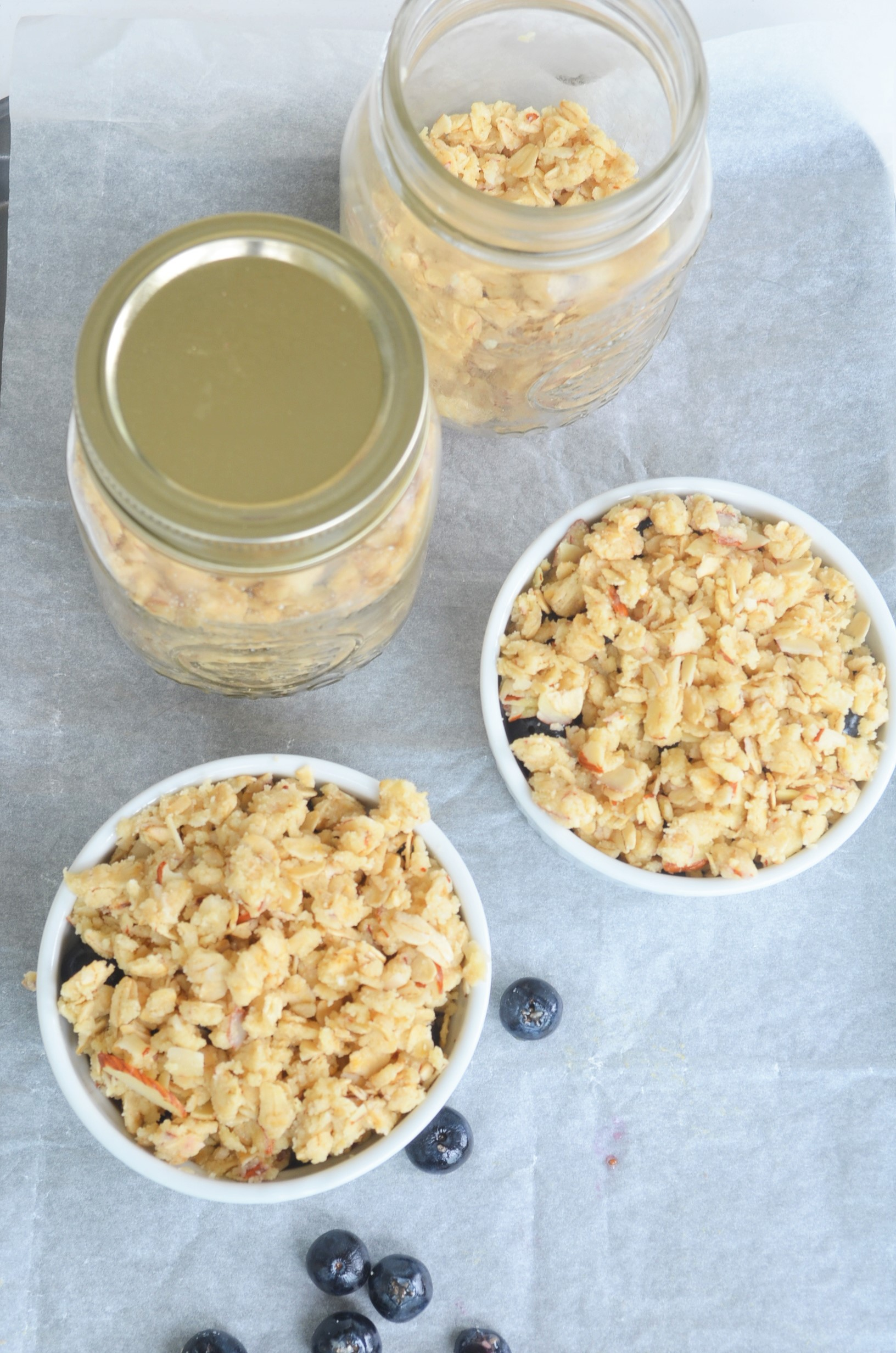 Make-Ahead Gluten Free and Vegan Crisp Topping