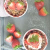 Ramekin Strawberry Crisp For Two