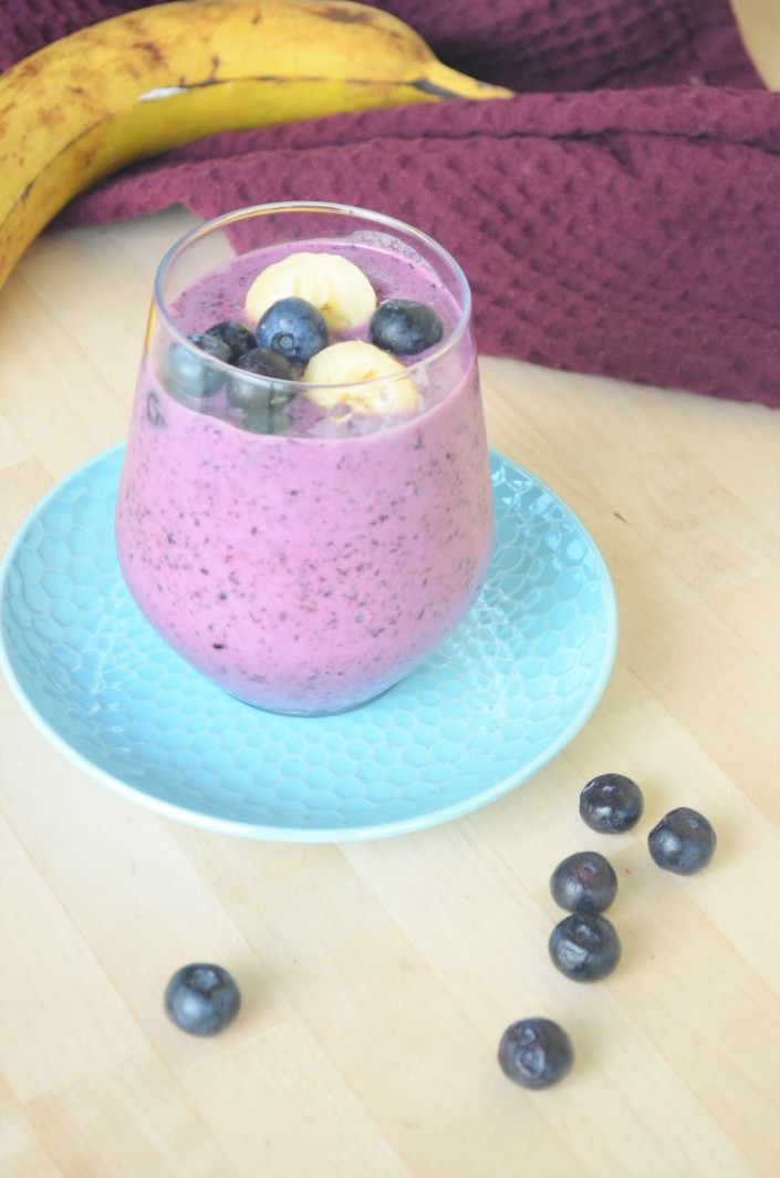 Single Serving Blueberry Banana Smoothie