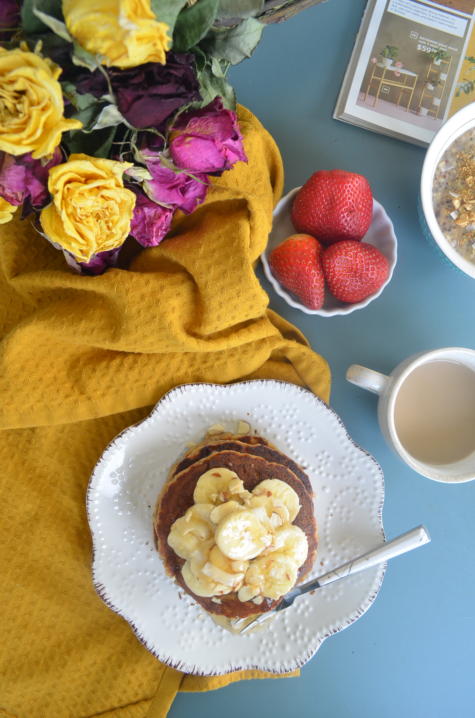 Single Serving Gluten Free Banana Pancake