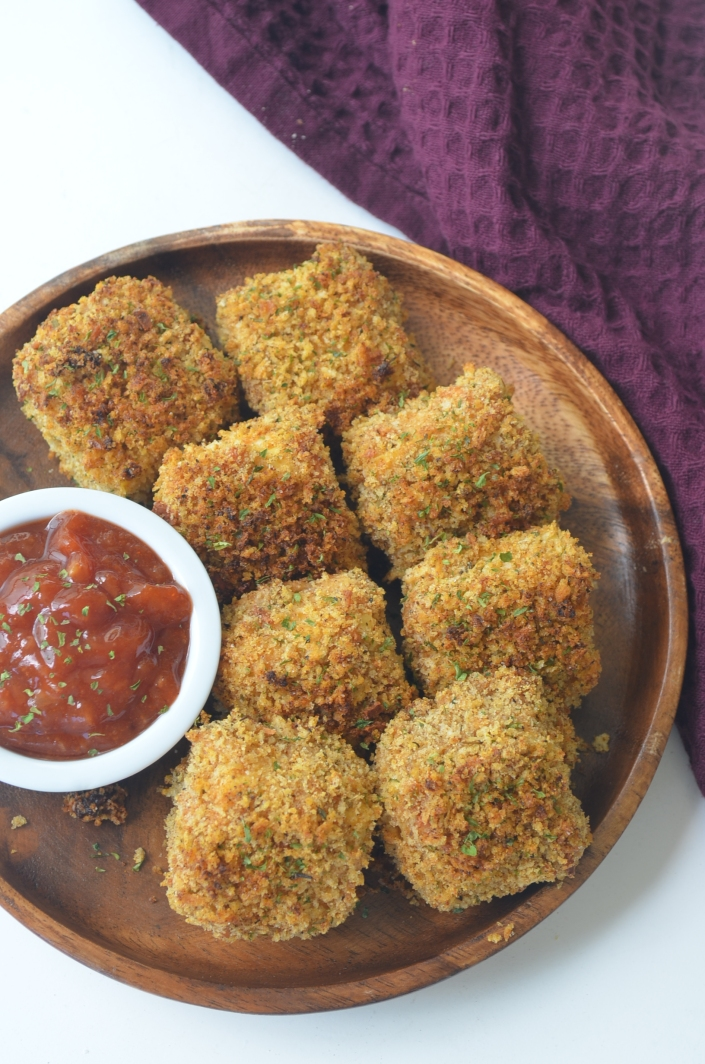 Small Batch Bake Tofu Nuggets By SweetNSpicyLiving