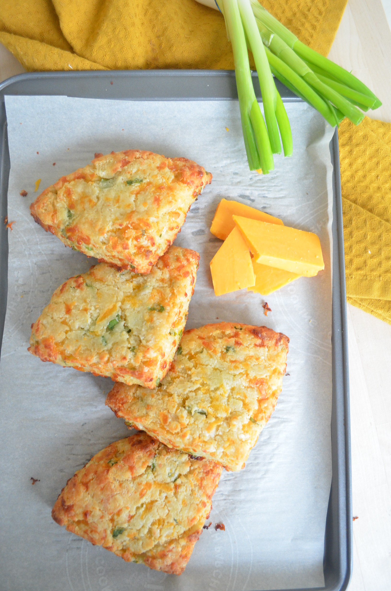Small Batch Potato Cheddar Scones